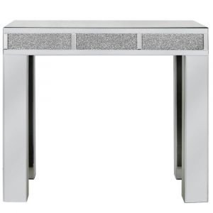 Mirrored Crushed Crystal Console Table (Isabel) Alternative