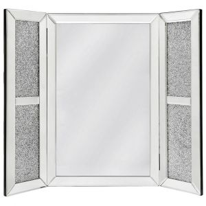 Crushed Crystal Dressing Table Mirror (Isabel) Alternative