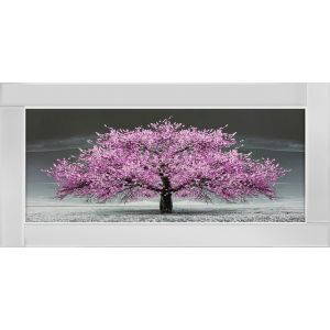 Mirror Cherry Blossom Tree MIRRORED PICTURE FRAME