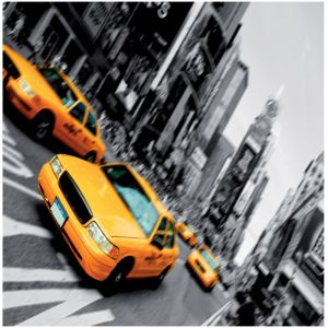 New York Cabs Custom Made Picture Frame