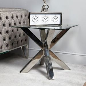 Nora Glass Top End Table Alternative