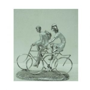 Couple On Bicycles  Ornament