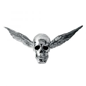 Skull With Wings Ornament