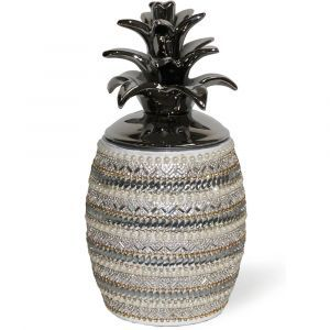 Pearl Large Pineapple Ornament