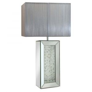 Floating Crystal Cube Table Lamp