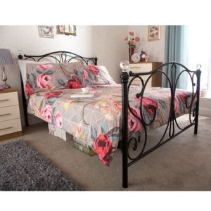 Pretty Metal Bed