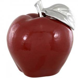 Large Red Apple Ornament