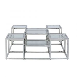 Nolan Stainless Steel Coffee Table