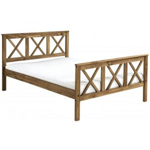 Siara Double Bed (High Foot)