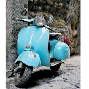 Vespa Scooter Custom Made Picture Frame