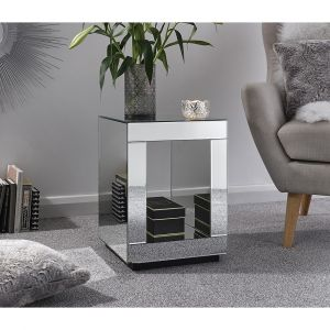 Colson Mirrored Side Table