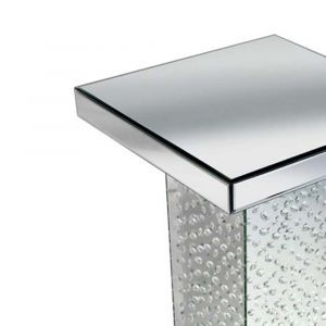 Floating Crystal Mirrored Side Stand Alternative