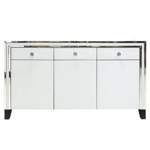White Glass Sideboard (Marco)