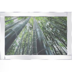 Forest View Mirrored Picture Frame