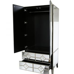 Mirrored Masira 2 Door Wardrobe Alternative