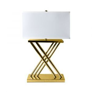 X Gold Table Lamp